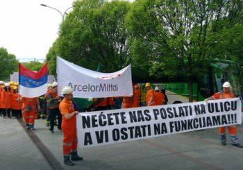 """Radnici """"Arselor Mitala"""" ne odustaju od odlaska u Banjaluku – autobusima ili pješice"""