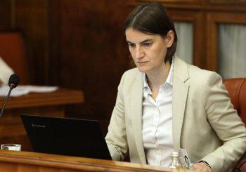 Poslanici Pokreta Dveri podnijeli krivičnu prijavu protiv Ane Brnabić