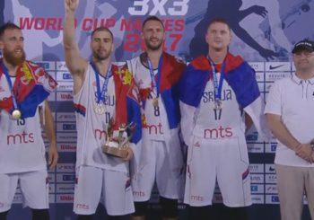 Srpski basketaši odbranili svjetsku titulu