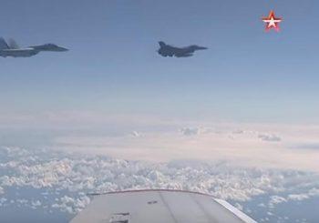 Kako izgleda gužva na nebu: NATO, Rusi, F-16, Su-27