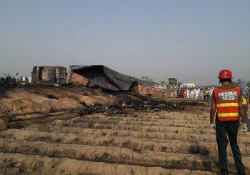 Pakistan: Zapalila se cisterna sa gorivom, 158 mrtvih