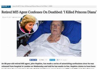 Britanski agent priznao ubistvo princeze Dajane