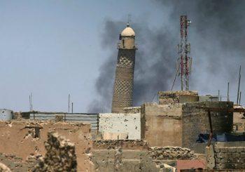 Srušena džamija u kojoj je Bagdadi proglasio kalifat