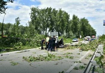 Nevrijeme poharalo region, u Novom Sadu stradala žena