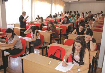Počeli prijemni ispiti za upis na fakultete