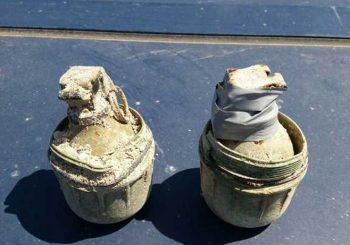 Trebinje - Uklonjene dvije ručne bombe