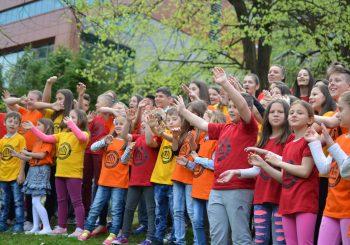 Pjesma srebreničkog hora je dječija himna u svijetu