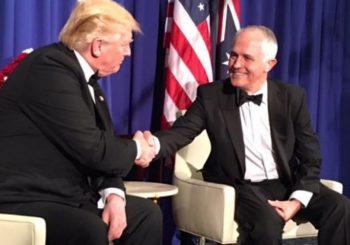 Pogledajte kako australijski premijer imitira Trampa