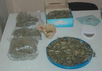 Gradiška: Zaplijenjeno 1,3 kilograma marihuane