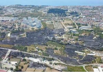 Pogledajte apokaliptičnu snimku područja Splita nakon požara