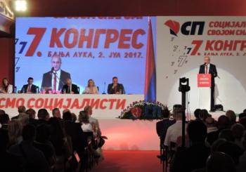 Đokić ostaje na čelu Socijalističke stranke