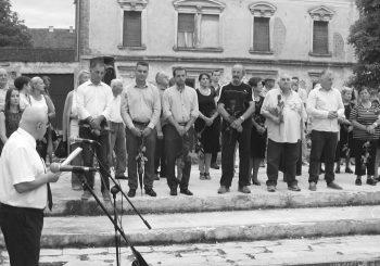 Glina: Sabotirali komemoraciju za žrtve ustaškog režima