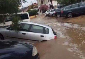 Oluja na Halkidikiju: Razrušeni putevi, poplavljeni hoteli