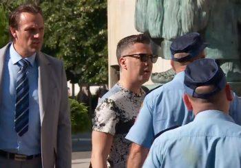 Policija zaustavila Joksimovića ispred Palate RS