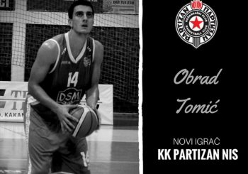 Obrad Tomić potpisao ugovor sa Partizanom