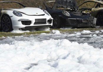 Hamburg pred početak G20: Zapalili 12 luksuznih Porschea