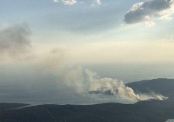 Katastrofalna situacija na požarištima u Crnoj Gori