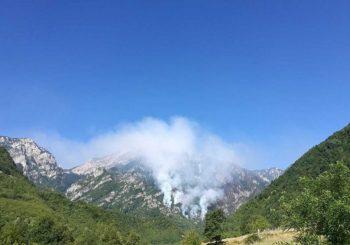 Intenziviran požar na Čvrsnici
