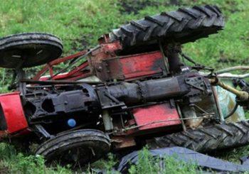 Otac i sin poginuli u prevrtanju traktora, povrijeđeni stabilno