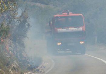 Trebević: Vatrogasci iz Sarajeva, Pala i Lukavice gase požar