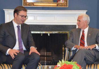 Vučić sa potpredsjednikom SAD: Ako nema mira u BiH, nema ga nigdje u regionu
