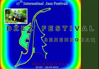 Danas počinje 17. Internacionalni džez festival na Zelenkovcu