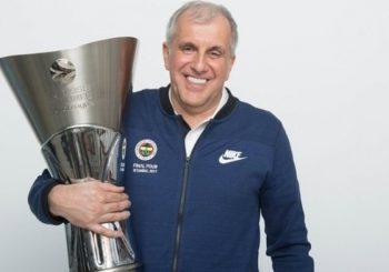 Željko Obradović je opet najbolji košarkaški trener u Evropi