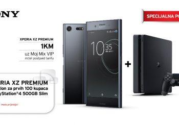 Uz novi Sony Xperia XZ poklon Sony PlayStation®4