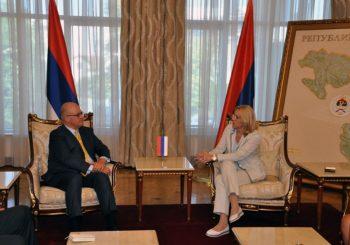 Susret Cvijnovićeve i Mura: Reforme ostaju prioritet Vlade Srpske