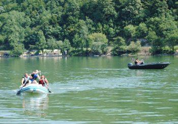 Pripadnici MUP-a izveli pokaznu vježbu na Zvorničkom jezeru
