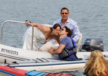 """Kanadski premijer kajakom """"upao"""" na vjenčanje"""