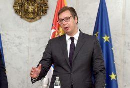 VUČIĆ Svaki normalan Srbin potpisao bi Dodikov stav o Kosovu, mada mi volimo da sebe lažemo
