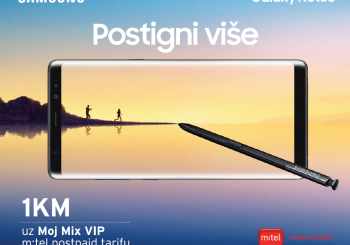 Galaxy Note8 je stigao na m:tel police