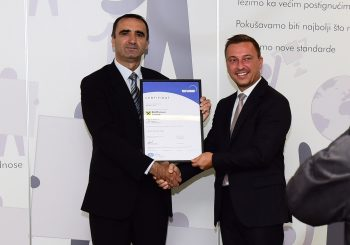 Rajfajzen banka dobila ISO sertifikat za kvalitet u pružanju bankarskih usluga