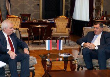 Dodik - Ivancov: Politička situacija u RS stabilna