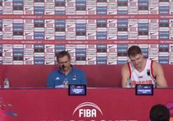 Eurobasket: Ovakva konferencija za novinare još nije viđenja