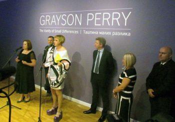 U Banjaluci otvorena izložba Grejsona Perija