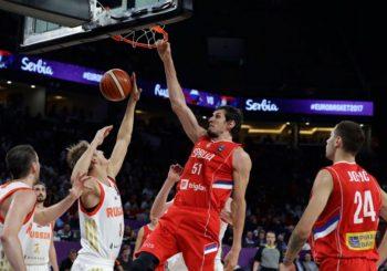 Srbija srušila Rusiju i plasirala se u finale Evrobasketa
