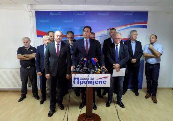 Savez za Promjene: Na predstojeće izbore sa zajedničkim kandidatima