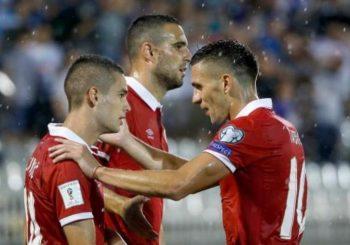 Fudbaleri Srbije bez problema savladali Moldavce