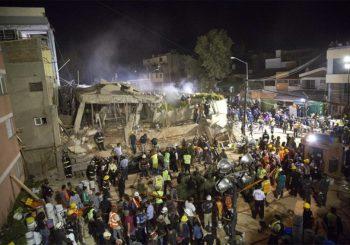Raste broj žrtava zemljotresa u Meksiku, ljudi zarobljeni u srušenim zgradama