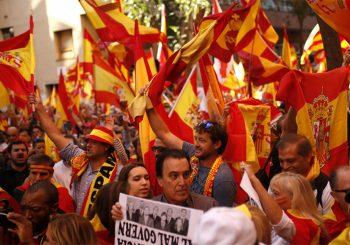 Barcelona: Preko 350 hiljada ljudi na ulici protiv nezavisnosti
