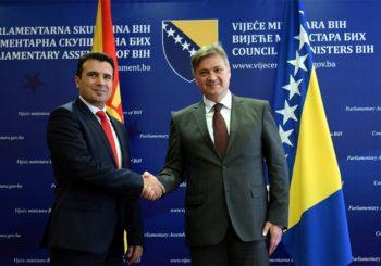 Dogovoreno jačanje ekonomske saradnje BiH i Makedonije