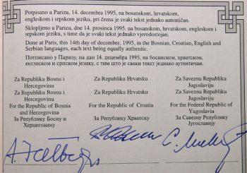 Kod Željka Kuntoša pronađen original Dejtonskog sporazuma