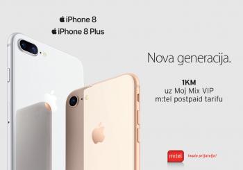 m:tel predstavlja iPhone 8 i iPhone 8 Plus telefone