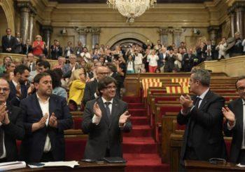Parlament Katalonije proglasio nezavisnost