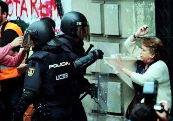 Referendum u Kataloniji: Povrijeđeno 38 ljudi, policija koristi gumene metke