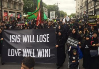 Hiljade muslimana u Londonu mirno protestvovalo protiv ISIL-a
