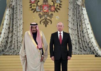Putin ugostio kralja Saudijske Arabije Selmana i s njim potpisano 14 sporazuma o saradnji