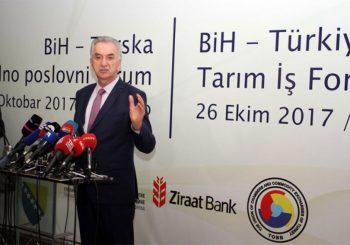 Šarović: Turska za BiH spoljnotrgovinski partner broj jedan